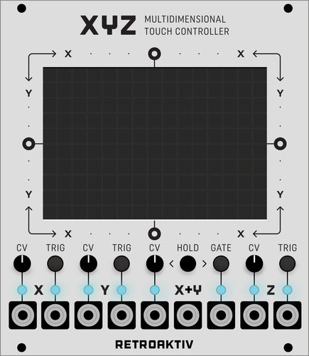 XYZ Multi-dimensional Controller for Eurorack (Pre-order)