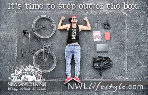 Rise To Your Own Power - New World Living Apparel and Accessories. Live your Truth.