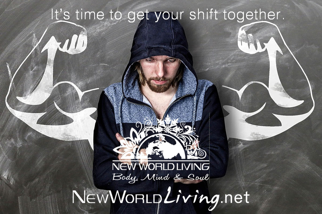 We are New World Living. We offer positive and metaphysical apparel, jewelry, home goods and accessories for spiritual and conscious living people.