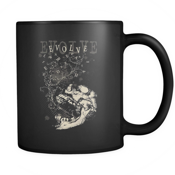 Evolve Black 11oz Mug