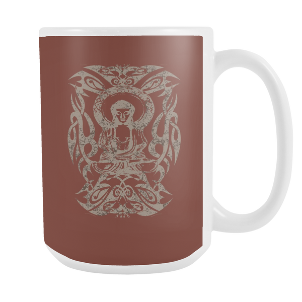 Tribal Buddha 15oz Mug