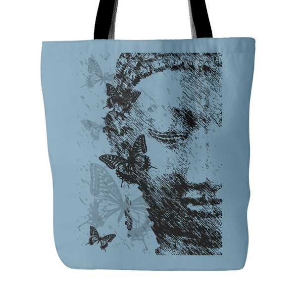 Butterfly Buddha Tote Bag