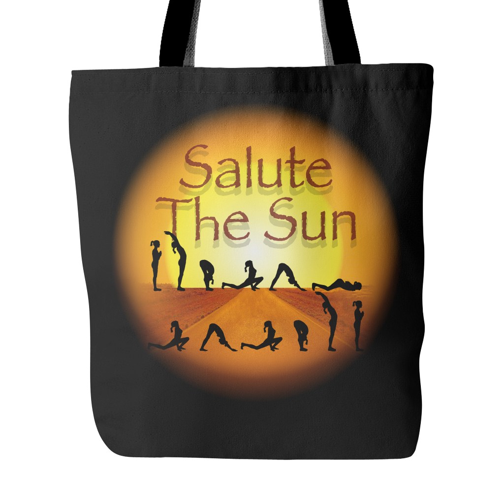 Salute The Sun Tote Bag