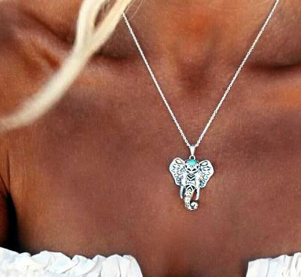Fortuity Elephant Necklace