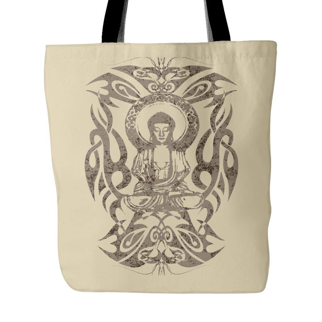 Tribal Buddha Tote Bag