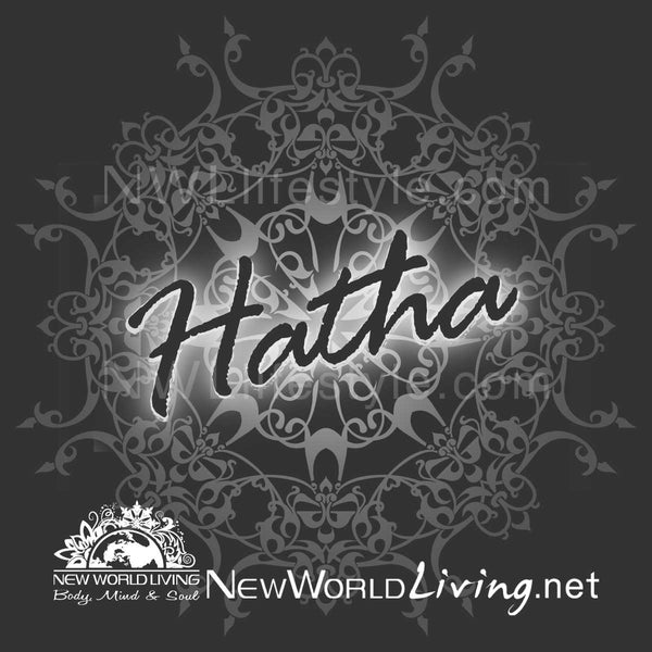 Hatha Yoga Ladies Tshirt