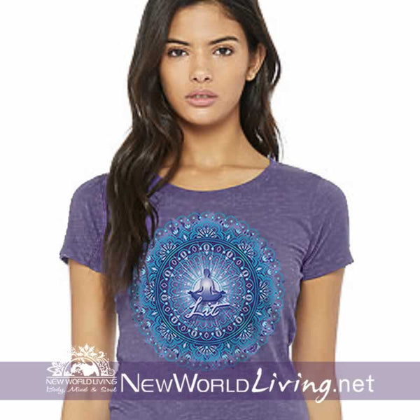 Lit Womens Heather Tshirt