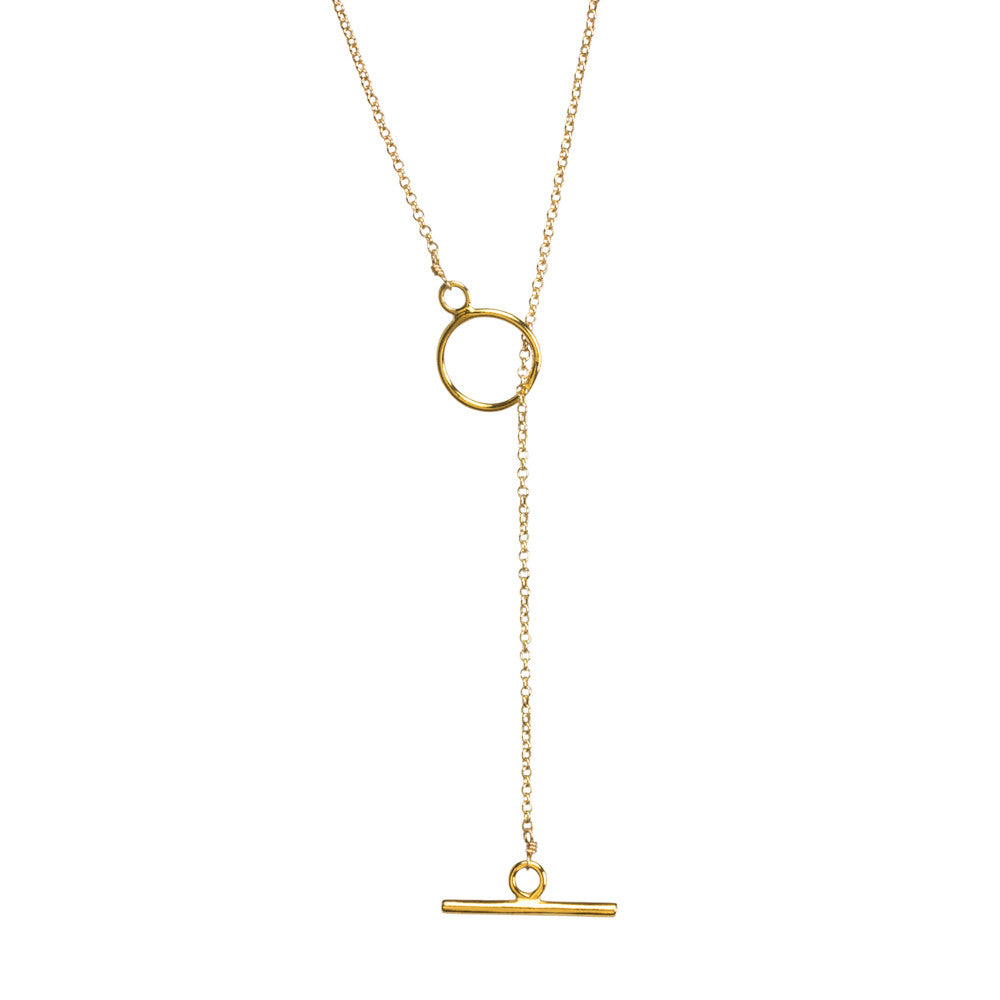 Karma Toggle Necklace