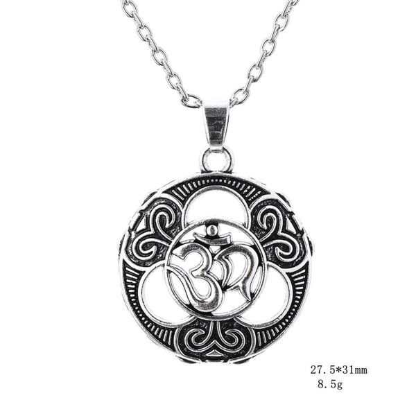 Trinity Om Necklace