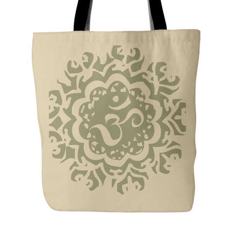 Ancient Om Tote Bag