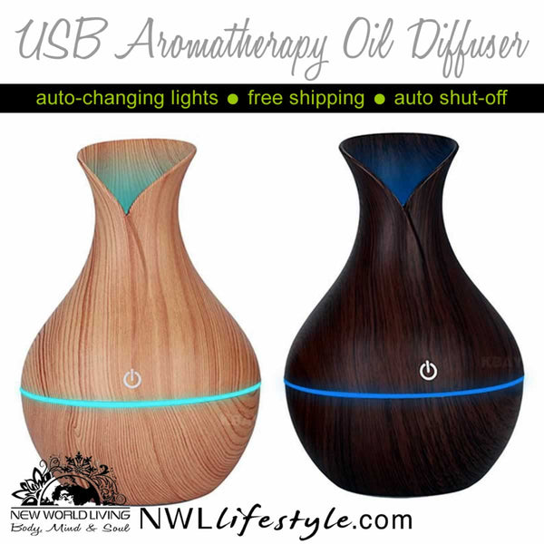 USB Aromatherapy Oil Diffuser