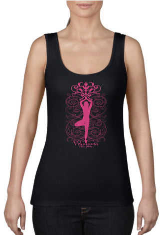 Tree Pose  Ladies Tank Top