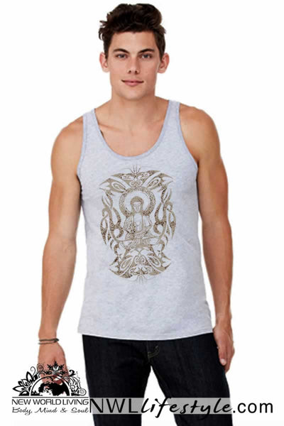Tribal Buddha Mens Tank