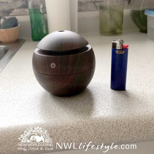 USB Oil Diffuser & 7-Color Night Light