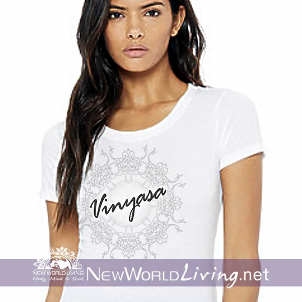 Vinyasa Yoga Ladies Tshirt