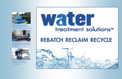 WATER TREATMENT SOLUTIONS - Water Recycling Systems for Stone * Glass * Concrete