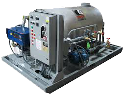 Industrial Water Heaters - Concrete Industry
