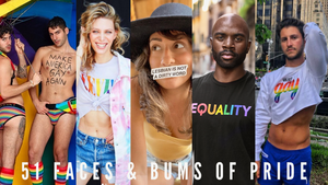 51 Faces & Bums Of Pride