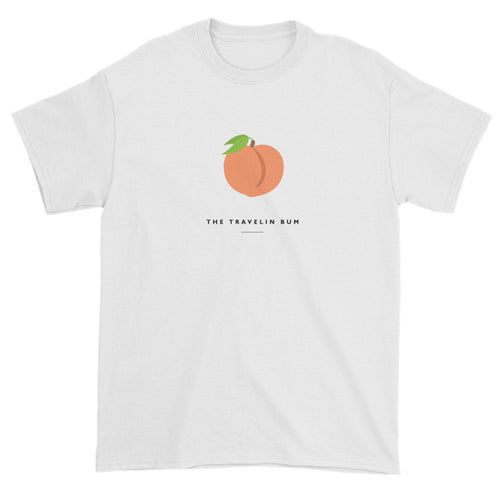 Peach Emoji Short sleeve t-shirt