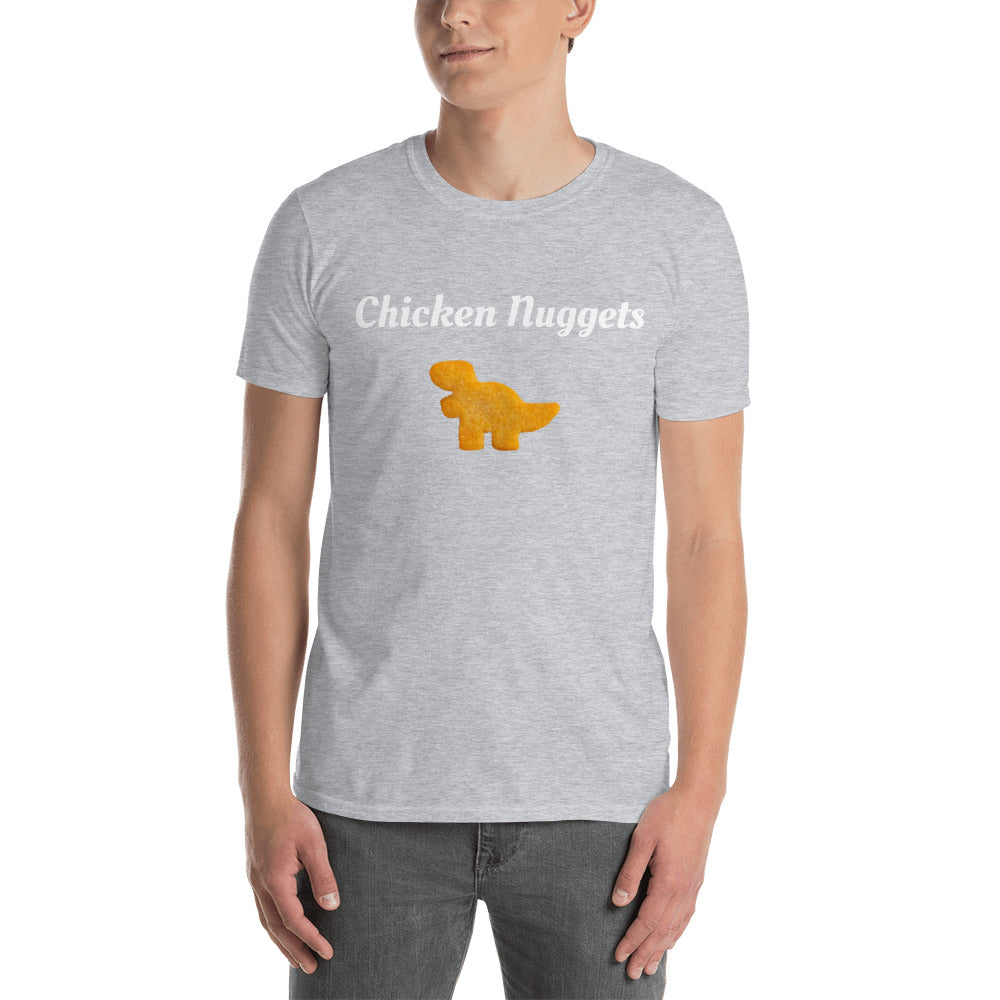 Chicken Nuggets Short-Sleeve Unisex T-Shirt