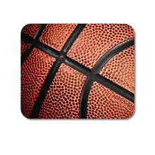 "DistinctInk Custom Foam Rubber Mouse Pad - 1/4"" Thick - Basketball Photo"
