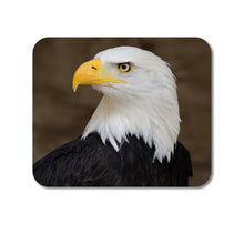 "DistinctInk Custom Foam Rubber Mouse Pad - 1/4"" Thick - American Bald Eagle"