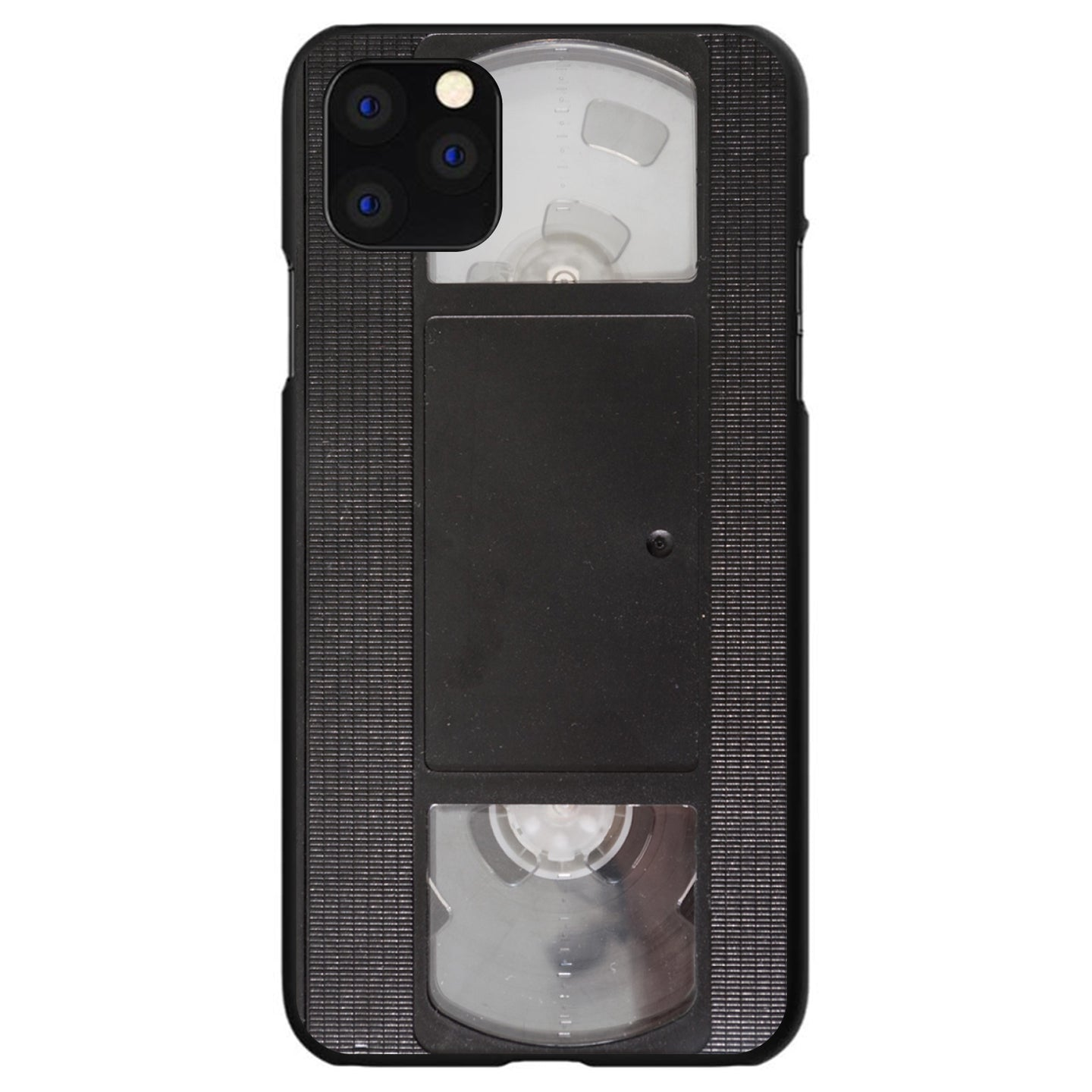 DistinctInk® Hard Plastic Snap-On Case for Apple iPhone - VHS Video Tape