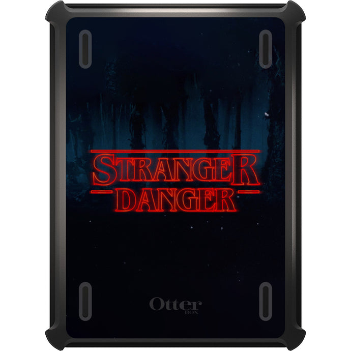 DistinctInk™ OtterBox Defender Series Case for Apple iPad - Red Forest