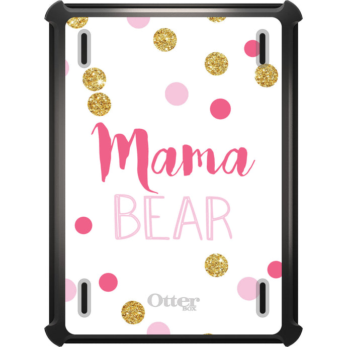 DistinctInk™ OtterBox Defender Series Case for Apple iPad - Pink White Gold