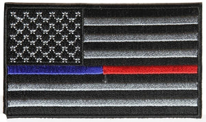 Thin Red/Blue Line Flag