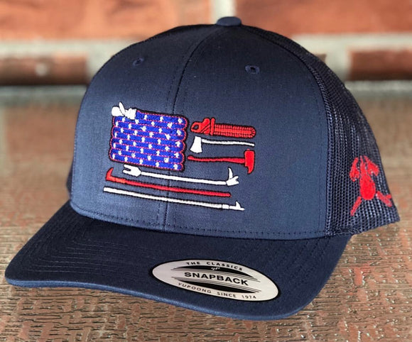 USA Fire Tools Hat