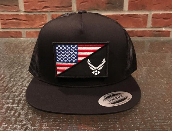 Air Force/USA Flag Hat