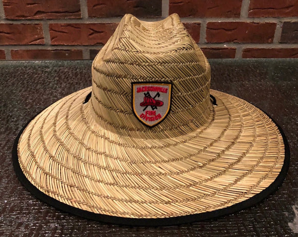Jax Fire Division Straw Hat