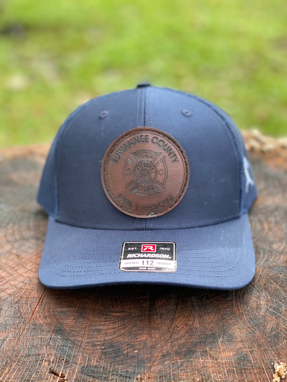 Suwannee County Leather Patch Hat
