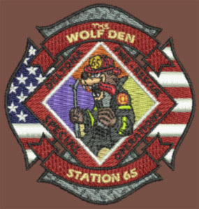 "Deltona Fire Station 65 ""The Wolf Den"" Hat"
