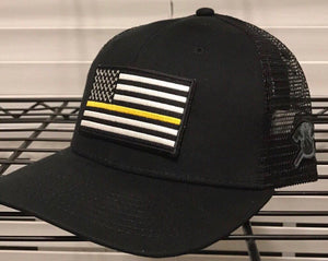 Thin Yellow Line Flag Hat