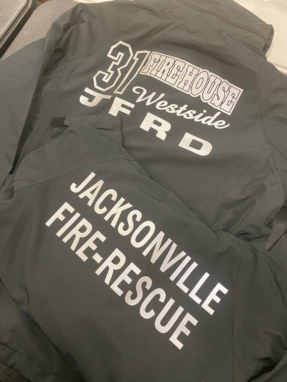 Reflective JFRD Windbreaker/Rain Jacket
