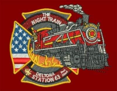 "Deltona Station 63 ""The Night Train"" Hat"