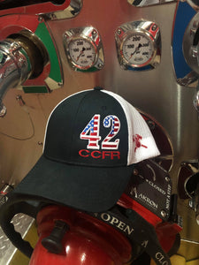 CCFR USA Number Flag Hat