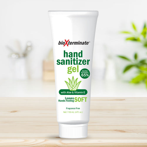 4 oz Hand Sanitizer Gel