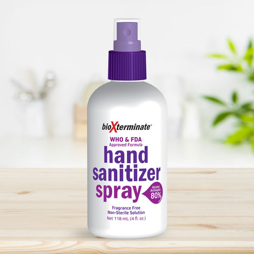 4 oz Hand Sanitizer Liquid Spray