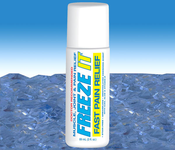 FREEZE IT 3 oz. roll-on for fast pain relief