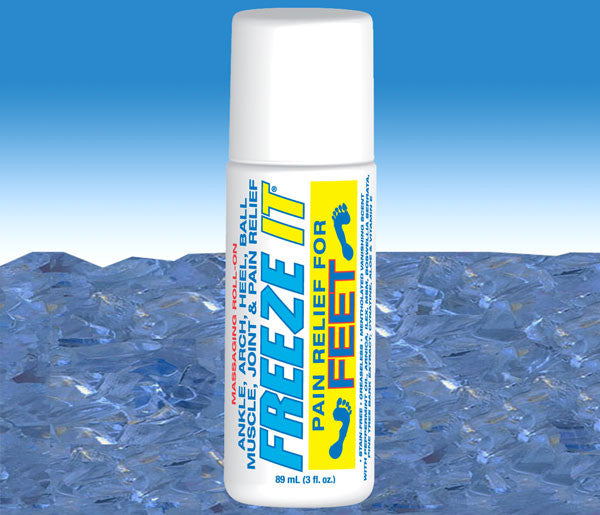 FREEZE IT FEET - like a pedicure in a bottle