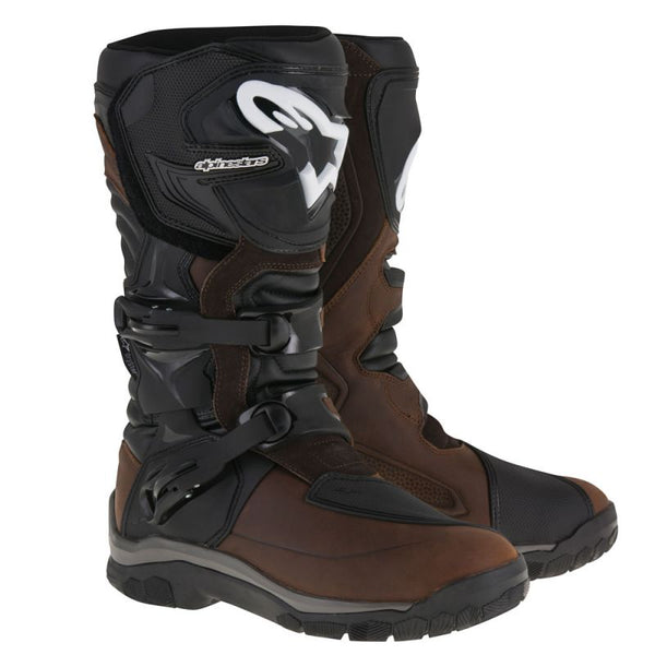 Cizme ALPINESTARS COROZAL ADVENTURE DRYSTAR® OILED LEATHER BOOTS BROWN/BLACK