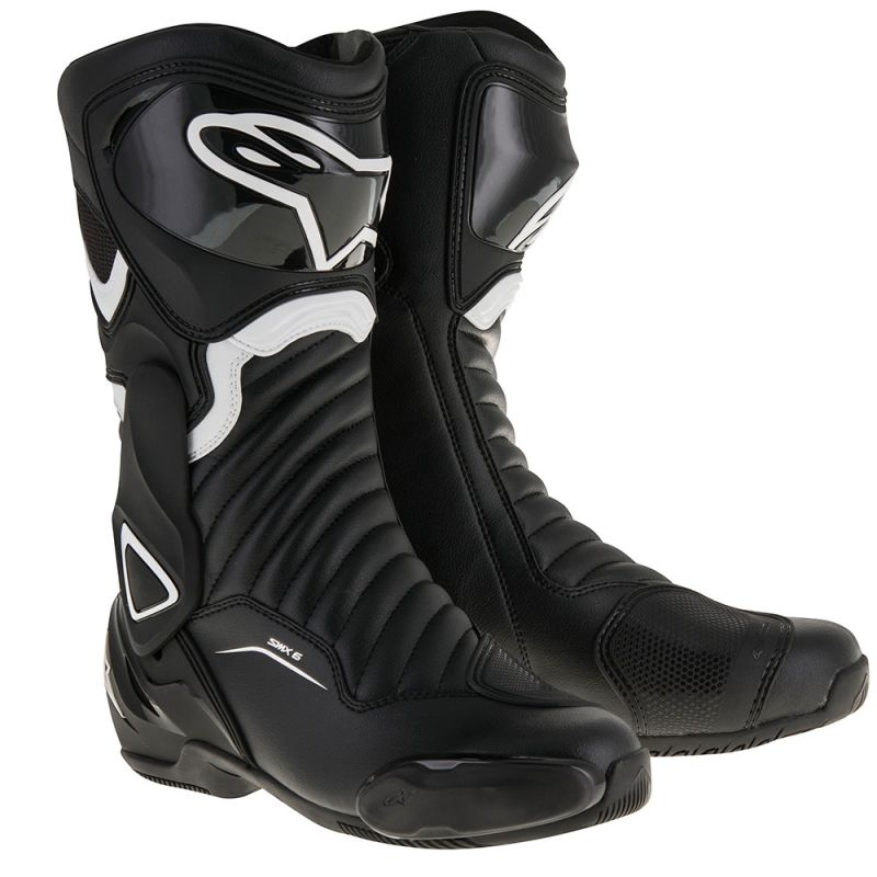 Cizme ALPINESTARS SMX-6 V2 PERFORMANCE BOOTS BLACK/WHITE