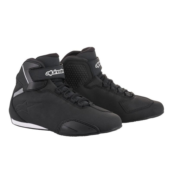 ALPINESTARS SEKTOR ROAD RIDING SHOES BLACK