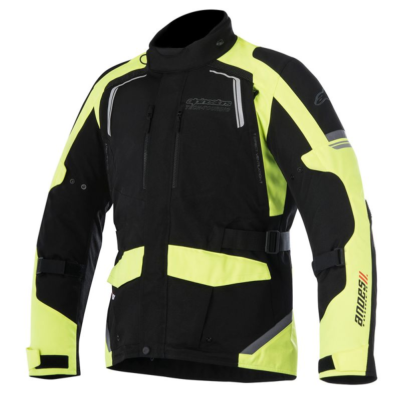 ALPINESTARS ANDES V2 DRYSTAR® ALL-WEATHER JACKET BLACK/FLO YELLOW