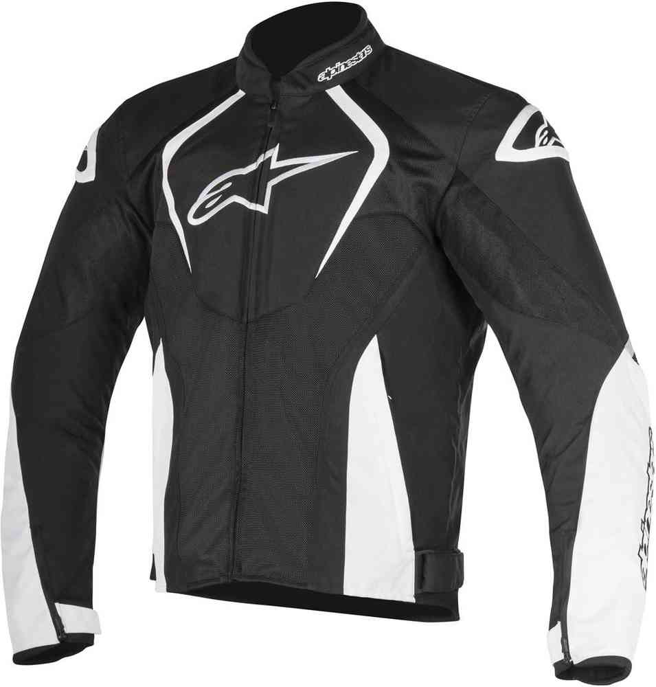 ALPINESTARS T-JAWS WP SPORT RIDING JACKET BLACK/WHITE