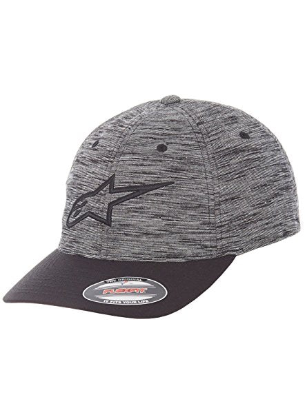 ALPINESTARS GRINDER CURVED BILL HAT CHARCOAL