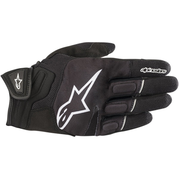 ALPINESTARS ATOM ROAD RIDING GLOVES BLACK/WHITE